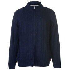 Kangol Cable Lined Funnel Cardigan 2XL Navy TD083 MM 12