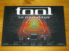 TOOL - 2007 Australia Tour SIGNED AUTOGRAPHED Poster - Maynard James Keenan