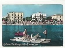 130479 bella cartolina  bellaria pattino moscone