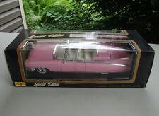 Vintage Maisto Special Edition 1959 Cadillac Eldorado Biarritz Pink 1:18 MIB