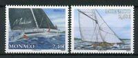 Monaco 2018 MNH Yachting Malizia II Viola 2v Set Sailing Sailboats Boats Stamps