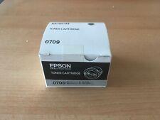 Original Epson 0709 Black Toner Cartridge - C13S050709