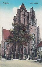 Striegau Strzegom AK 1919 Katholische Kirche Polen Polska 1702092
