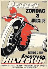 Art RENNEN Hilversum moto course moto moto Poster Print