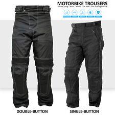Motorbike Waterproof Motorcycle Cordura Textile Trousers Armoured Biker Pants