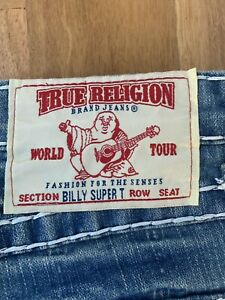 True Religion Ladies Jeans Size 28 Billy