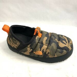 The North Face Youth Thermal Tent Mule II Water Resistant Camouflage Slippers