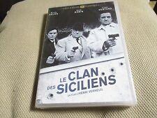 "DVD NEUF ""LE CLAN DES SICILIENS"" Lino VENTURA, Jean GABIN, Alain DELON"