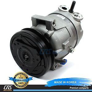 NEW A/C Compressor w/ Clutch 68210 V5 Fits 99-02 Daewoo Lanos