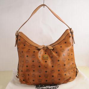 MCM Visetos Hobo Shoulder Bag Authentic + Dust Bag