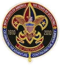 Boy Cub Eagle Scout 2010 Centennial Jamboree Jacket Patch Badge Merit Award BSA