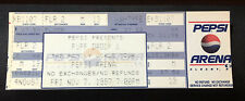 Rapper Puff Daddy Family World Tour Ticket 1997 Albany Ny Pepsi Arena Sean Combs