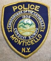US Monticello Police Patch