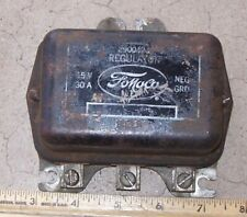 1956 1964 Ford Galaxie Mercury voltage regulator 3 terminal 15V 30 amp Std Duty