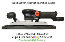 Rupes SLP41A Flat Longbed Orbital Pnuematic Sander 400x70mm Extraction Ready