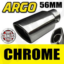CHROME EXHAUST TAILPIPE TIP TRIM END MUFFLER FINISHER MERCEDES A CLASS HATCHBACK