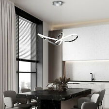 36W 2 rings Hanging Pendant Lighting Ceiling Fixture Dimmable Modern luxurious