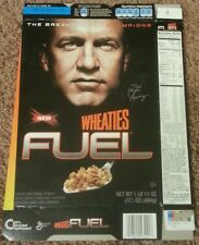 Peyton Manning WHEATIES Fuel Cereal Box - Denver Broncos / Indianapolis Colts