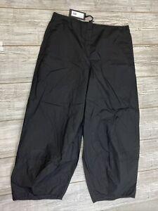 NWT OSKA Women's Hose Brinda Sz 5 Black Elastic Waist Balloon Pants Pockets Zip