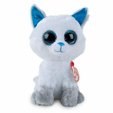 "Ty Beanie Boos 6"" Frost the Arctic Fox Stuffed Animal Plush MWMTs Ty Heart Tag"
