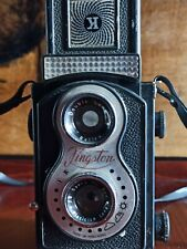 Kingston TLR Vintage Camera Roll Film Camera Camera Double Eye