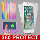 Shockproof 360° Full Silicone TPU Phone Case Cover For iPhone 7 PLUS 6S 5S SE