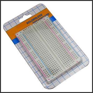 Steckbrett Breadboard 400 Kontakte Experimentierbrett Pins Raspberry Pi Arduino