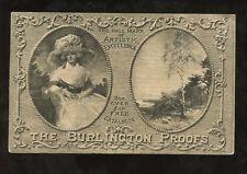 ADVERTISING CARD c1915 FINE ARTS PUBLISHING CHARING CROSS ROAD BURLINGTON PROOFS