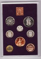 ROYAL MINT 1970 STANDARD PROOF COIN SET OF 8 COINS