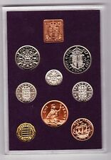 More details for royal mint 1970 standard proof coin set of 8 coins