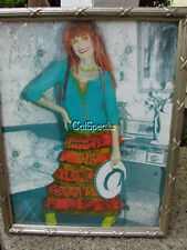 BETSEY JOHNSON ORIGINAL FRAMED ART~COLORIZED FROM NY STORE