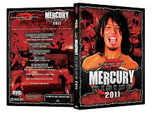 Official DGUSA Dragon Gate USA : Mercury Rising 2011 Event DVD