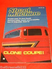 STREET MACHINE - CLONE COUPE!  - JUNE 1985