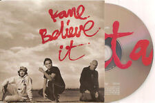 KANE - believe it CD SINGLE 3TR EU CARDSLEEVE 2005 RARE