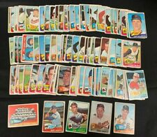 1965 TOPPS BASEBALL CARD LOT (50+/-) W/STARS MOSTLY LOWER GRADE RANGE