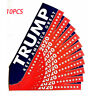 10PCS Donald Trump President 2020 Bumper Sticker Keep Make America Great RX