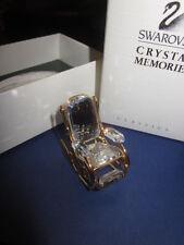 SWAROVSKI CRYSTAL MEMORIES ROCKING CHAIR MIB!!!