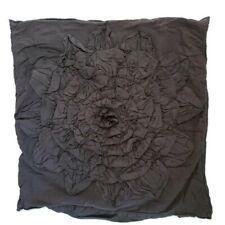 """Anthropologie Georgina Gray Euro Pillow Sham 26"""" Square."""