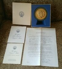 Official 1973 Presidential Inaugural Medal Solid Bronze, Proof, Franklin Mint
