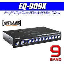 Audiopipe Graphic Equalizer 9 Band 9 V Line Driver Car Audio ( EQ-909X ) RF