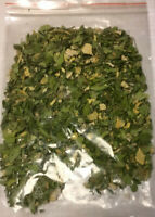 100gr Moringa-Blätter Nährstoffe pur als Futter für Garnelen, Krabben und Krebse