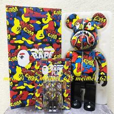 Bearbrick Medicom Toy Exhibition 2019 Bape Camo Shark 100% 400% Be@rbrick