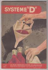"""*** Système """"D"""" *** 1956/02 - n° 122 - Un Perfectionnement aux Entonnoirs"""