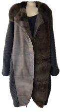 Vint Giusi Slaviero Sweater Fur Rabbit/Lapin Mohair Lambs Wool Coat Italy