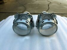 "2x OEM 10-15 Toyota Prius Halogen Headlight Projectors Set 3"" Lens for H11 Bulbs"
