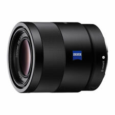 55mm Fixed/Prime Lenses for Sony Cameras