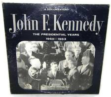 JOHN F. KENNEDY The Presidential Years 1960-1963 Documentary MONO LP Teig -LP1