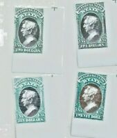 US Department of State Stamps - All Facsimile Reprints - IMPERF FOR DESPLAY ONLY