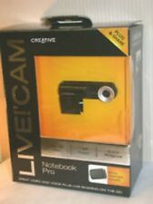 Creative Live Cam Pro Notebook Laptop Webcam Case Windows 7 VF0400