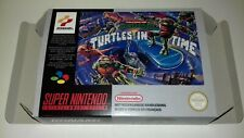 Turtles in Time IV - PAL  - Super Nintendo - Snes - Only Box